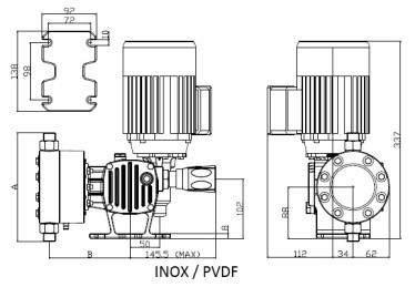 P12 Serie_ST_AD_dimensional_INOX_PVDF