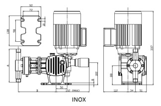 P14 Serie_ST_AP_dimensional_inox
