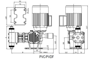P14 Serie_ST_AP_dimensional_PVC